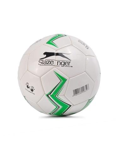 Slazenger Yeşil-Beyaz 5 Numara Futbol Topu Yeşil